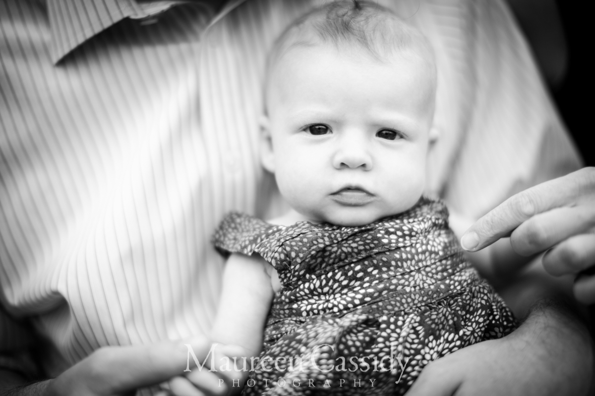 3 month old madison family outdoors session