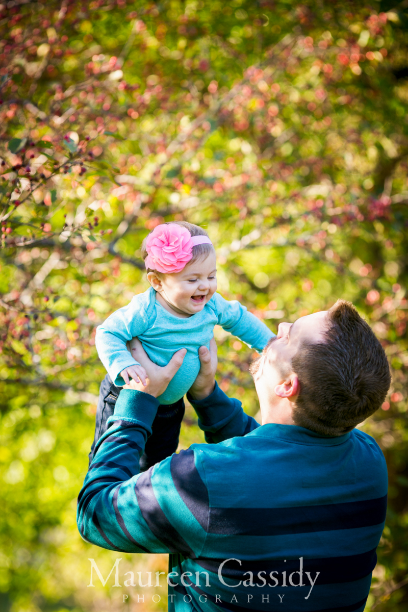 1 year old madison family outdoors session
