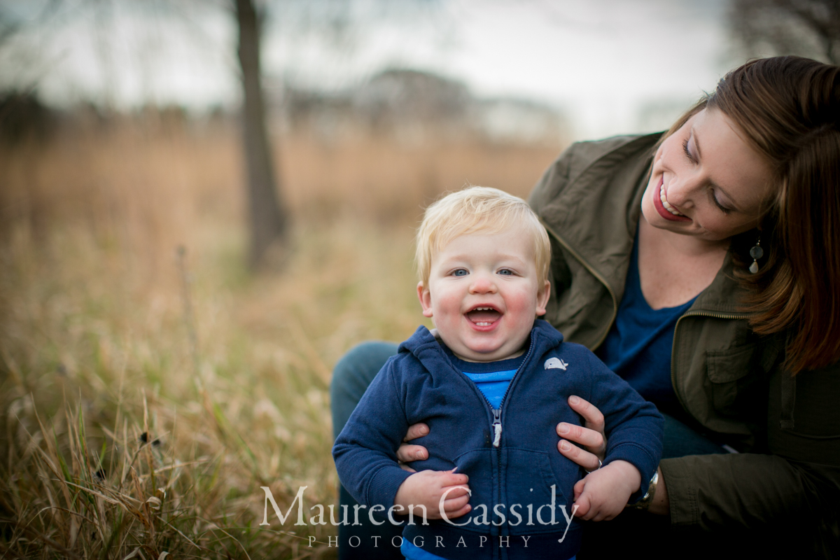 playful natural photos of family in madison