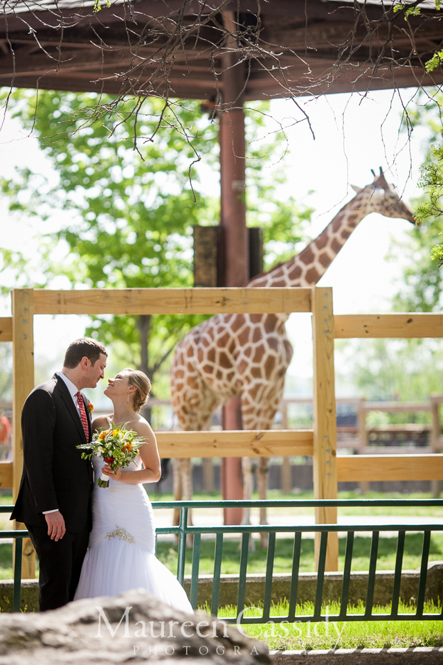 zoo wedding in madison