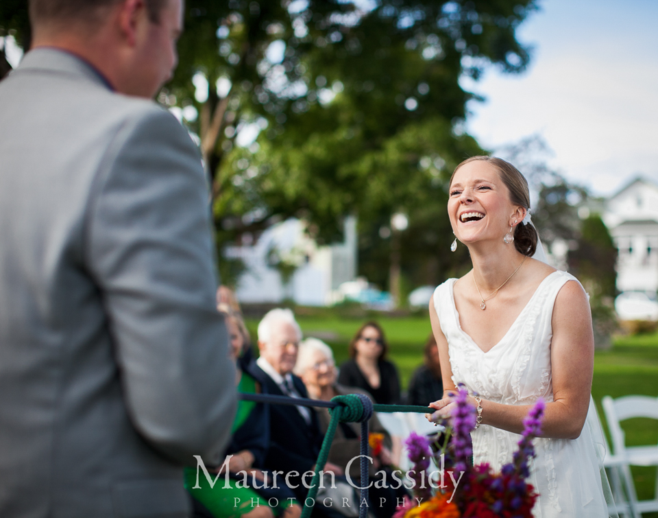 lake superior outdoor wedding
