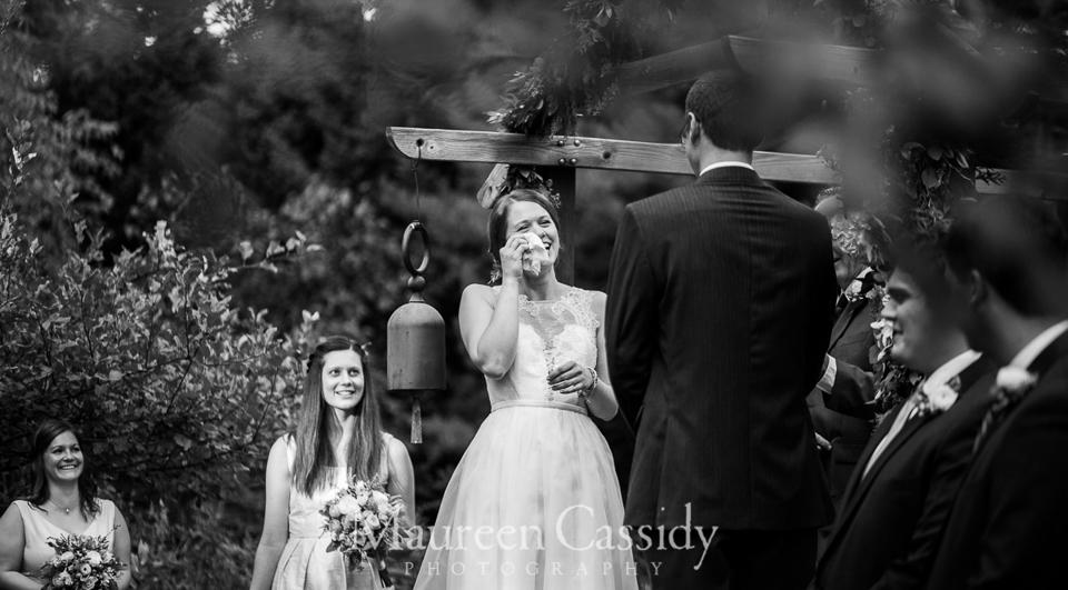 backyard wedding in madison