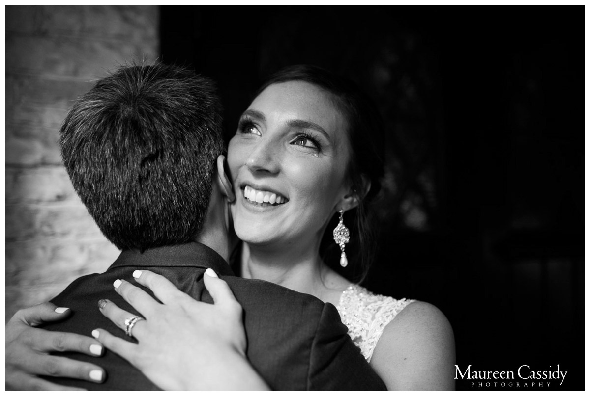 happy couple after getting married photo