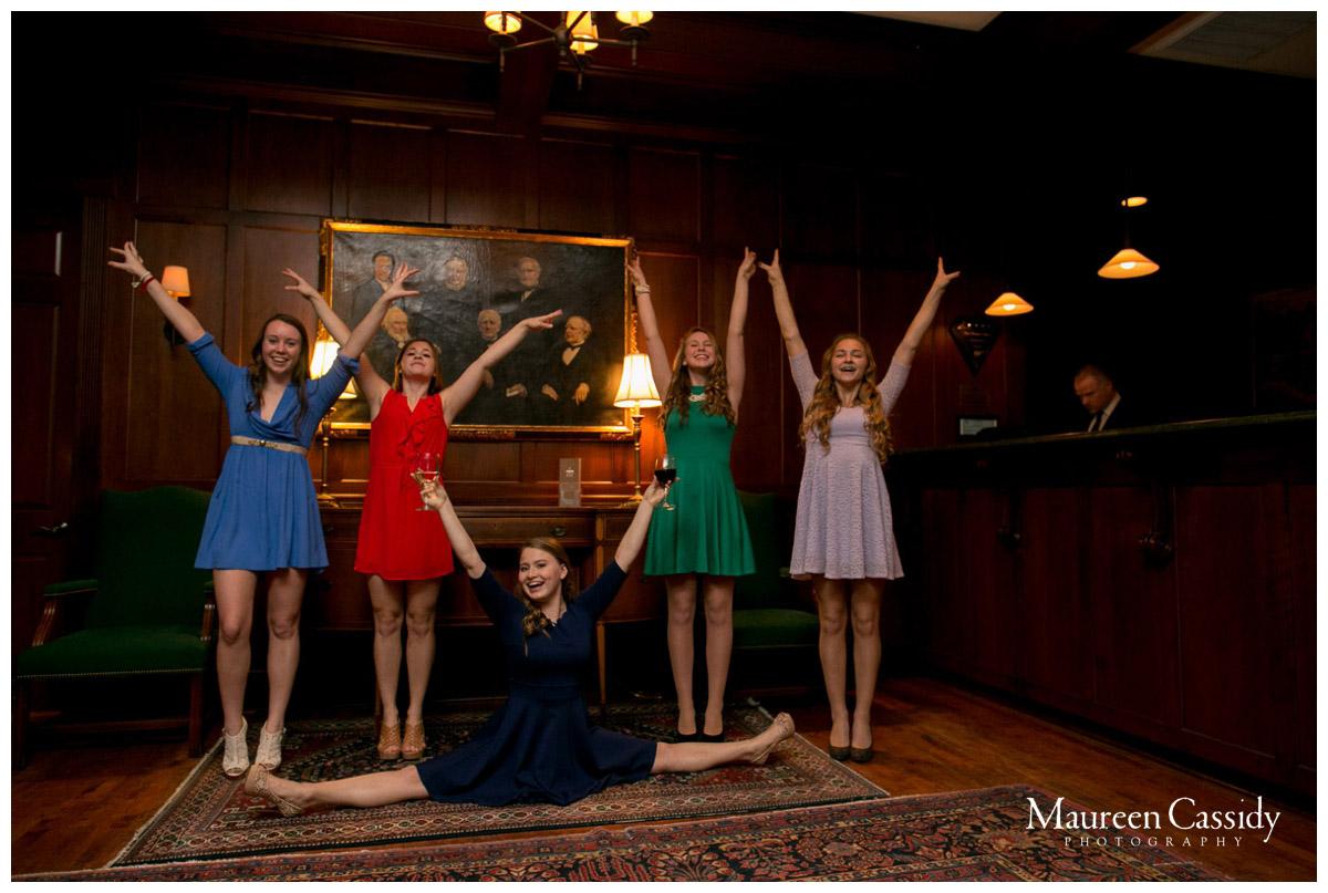 gymnastics students photo