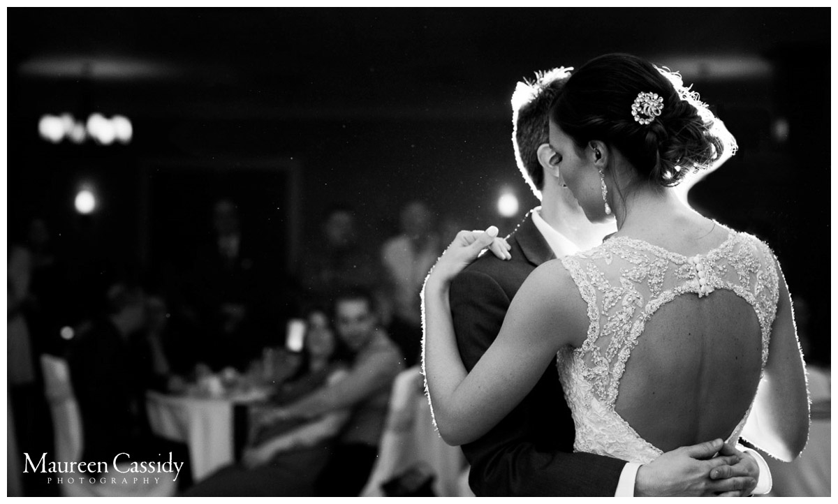 first dance wedding reception photo