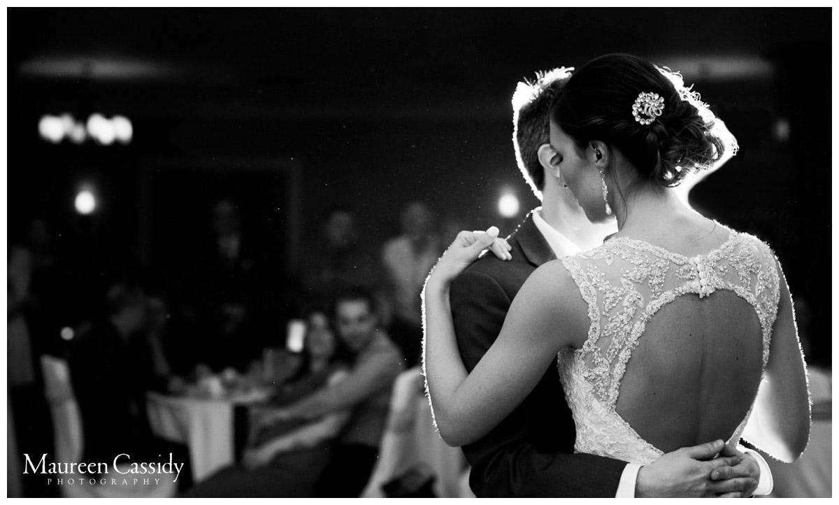 first dance wedding reception photo