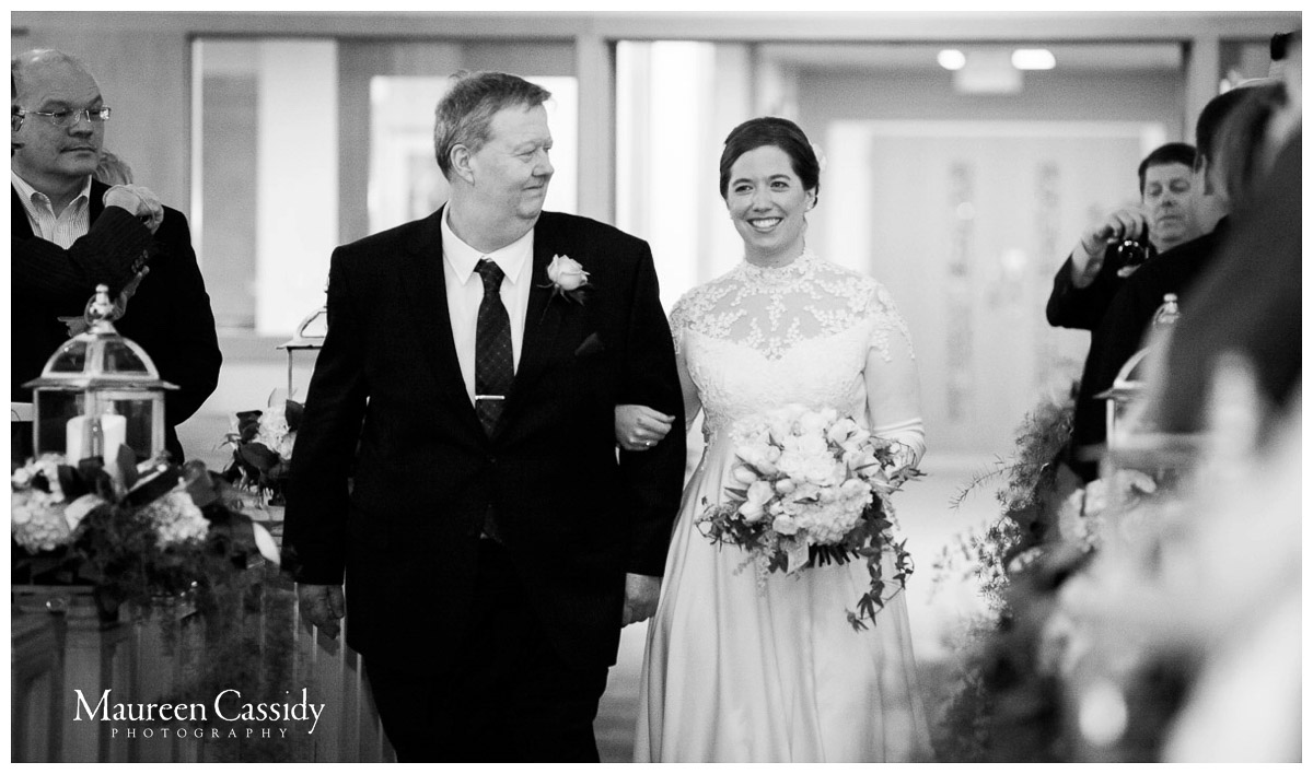 candid from wedding ceremony in madison wisconsin