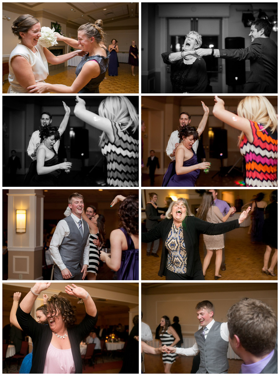 candids at reception in madison wisconsin dancing pictures