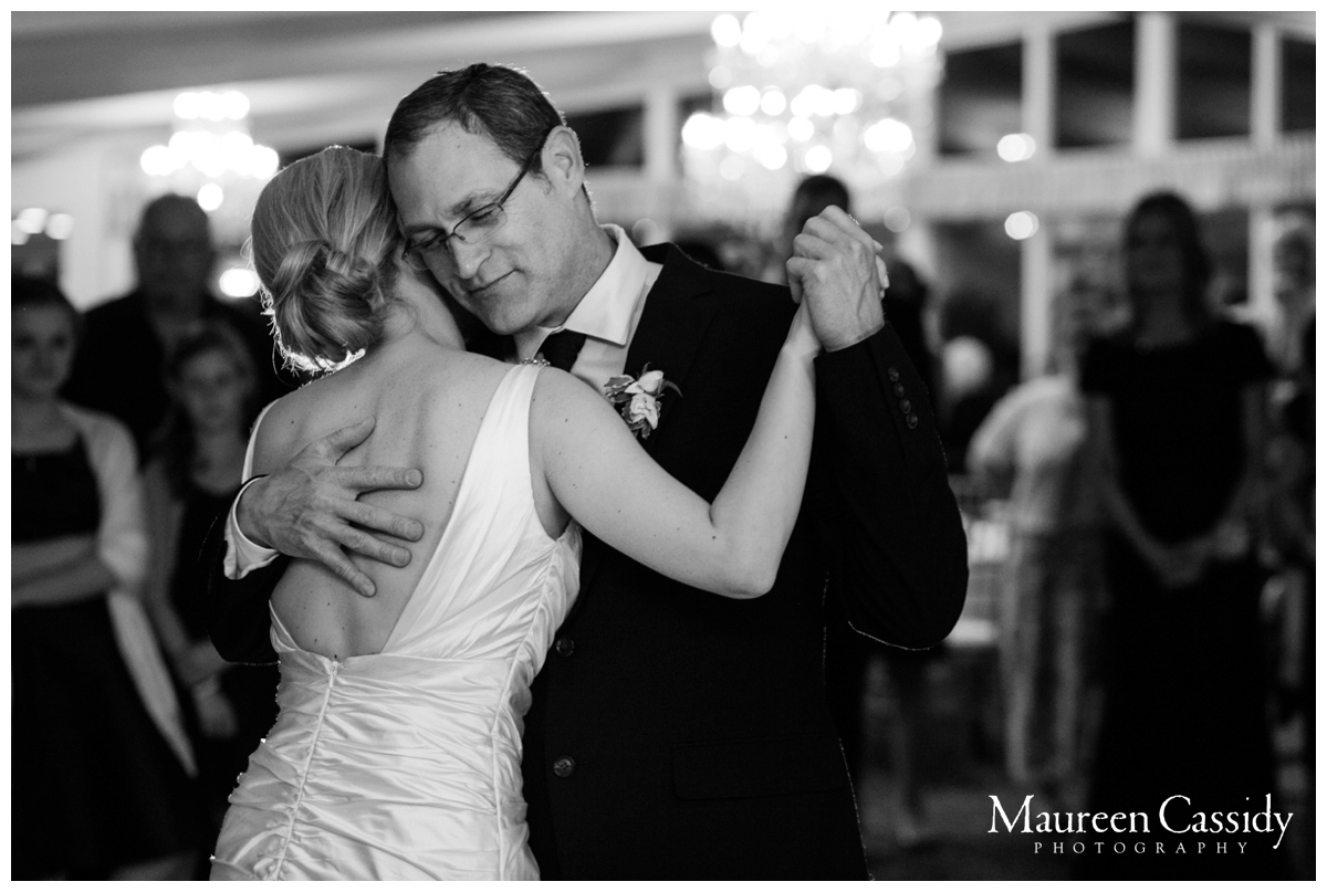 bride and father dance photo