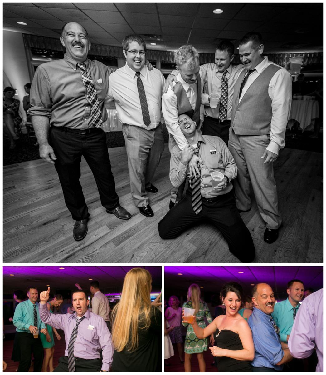 candid wedding photo madison wi  dancing