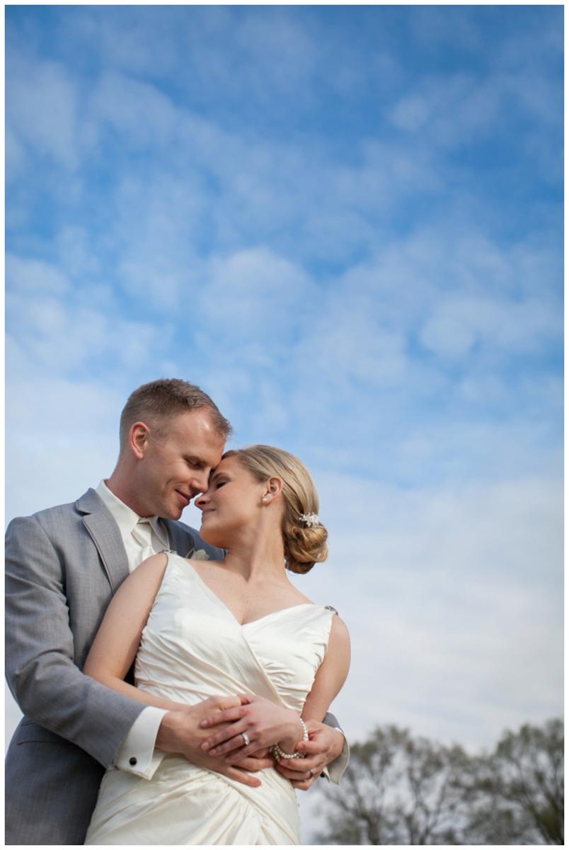 sky nature wedding photo outside