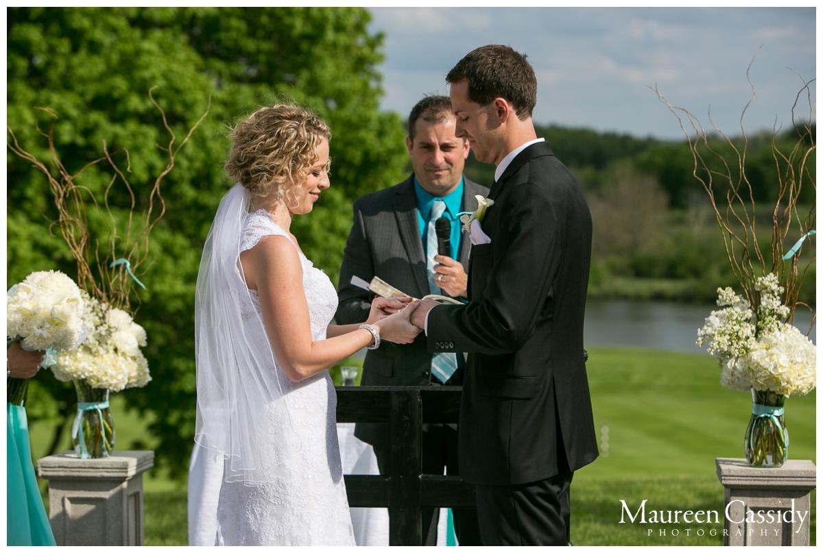 putting ring on newlyweds