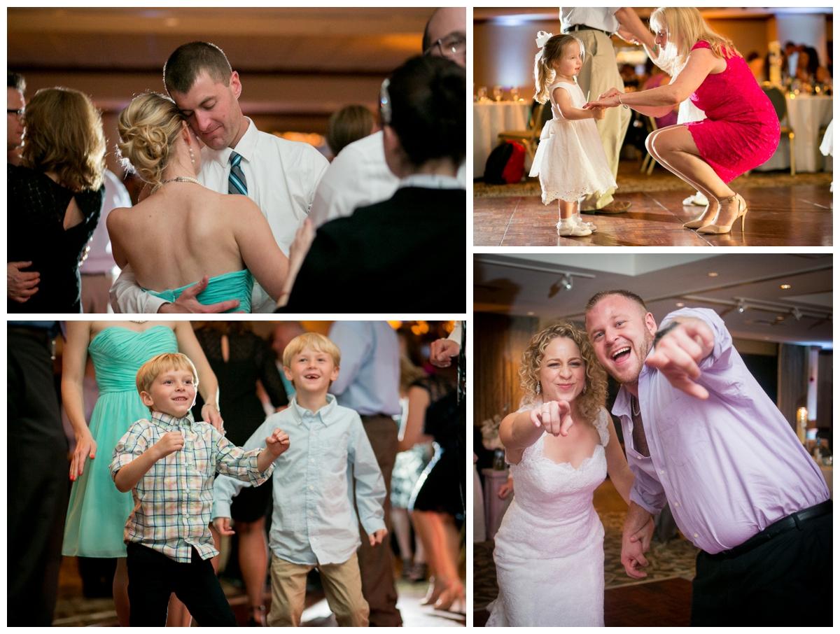 fun natural dancing wedding photo wi