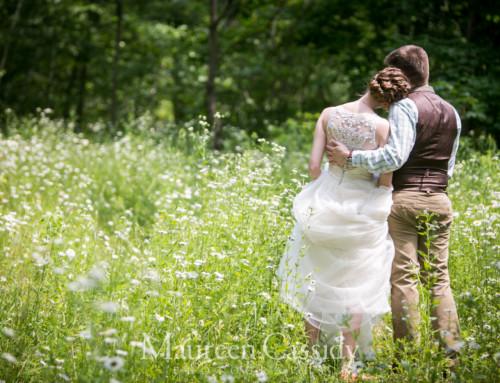 Elsa and Stuart's Barn Wedding