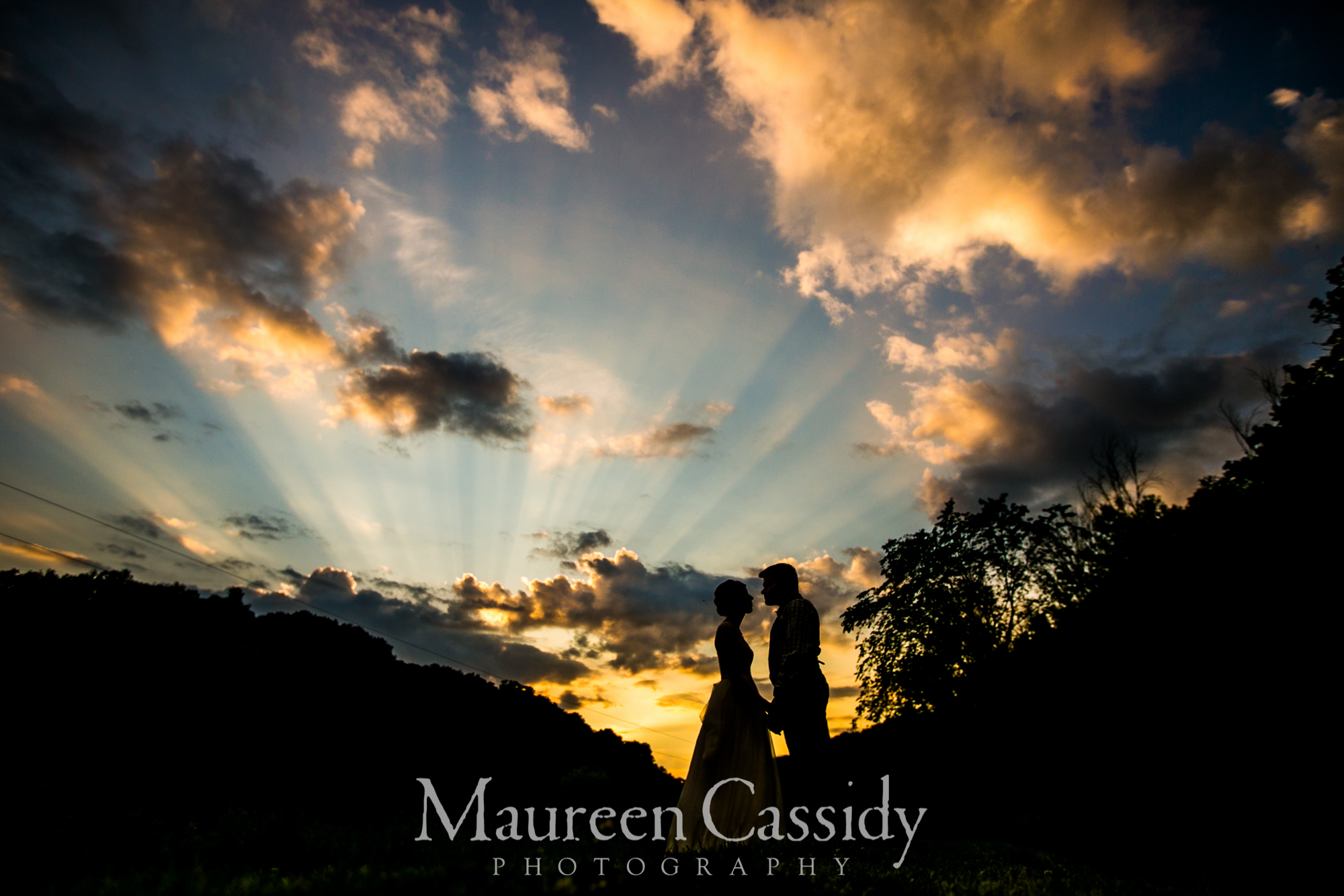 Outdoor barn rustic wedding photography
