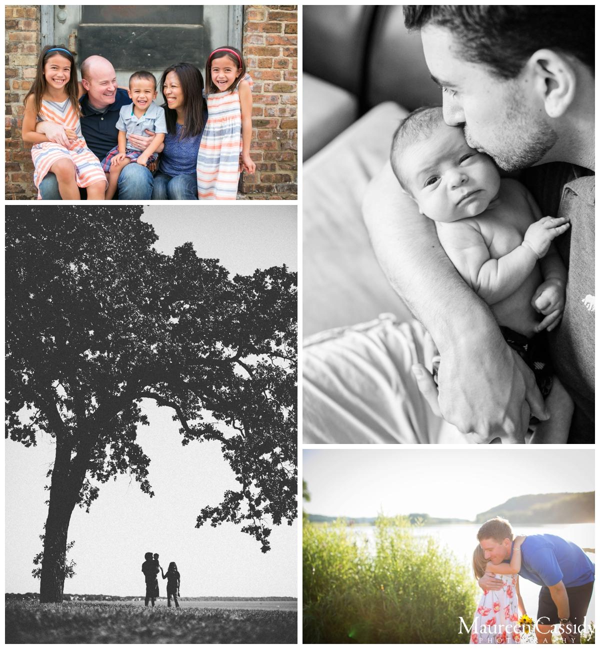 newborn and family photo madison wi