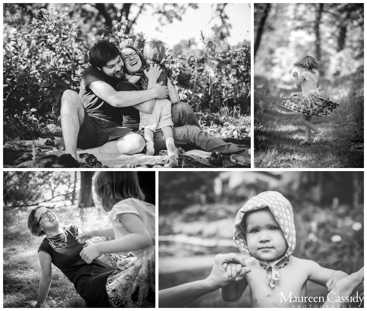 outdoor natural family photos
