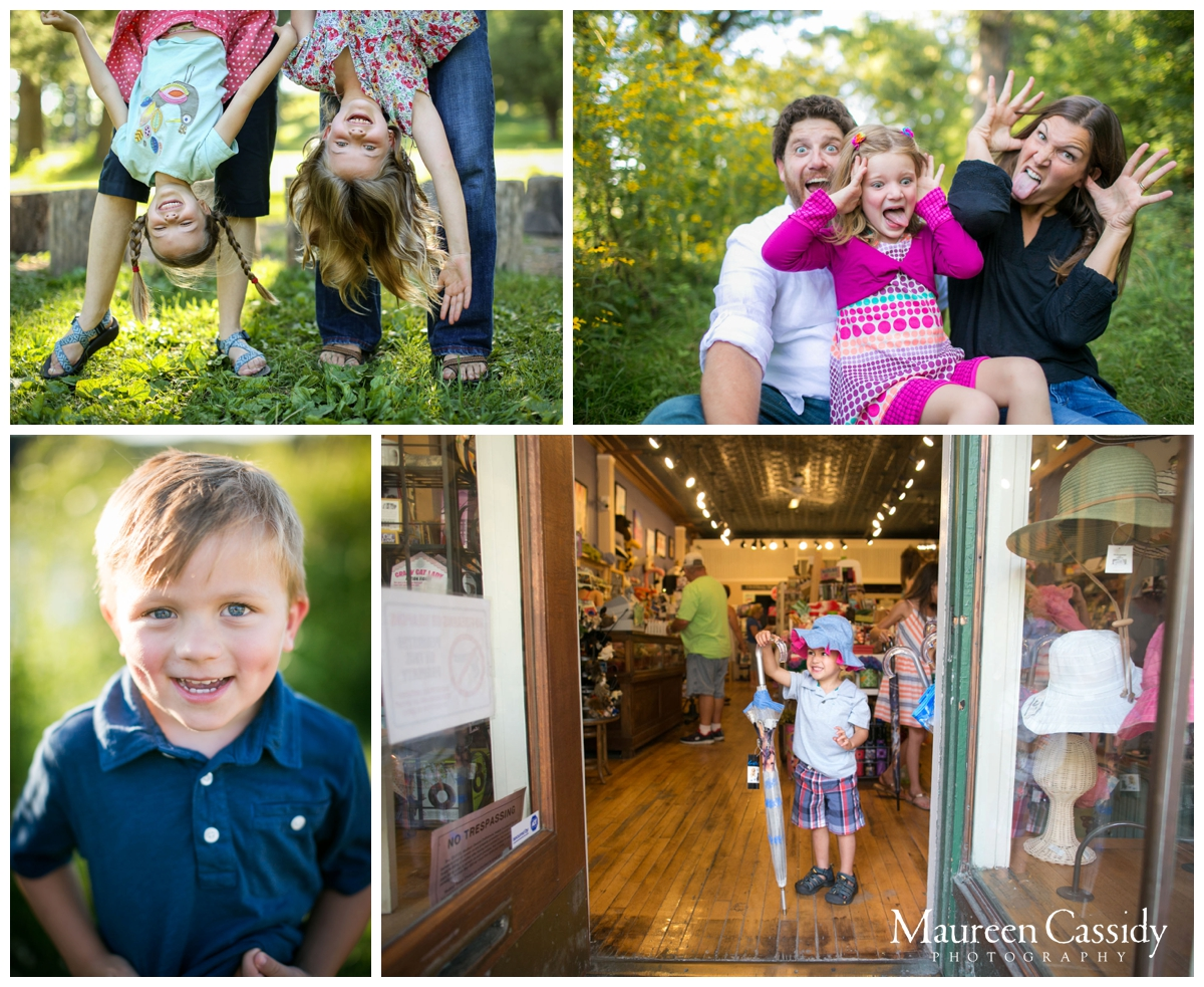 outdoor natural family photography