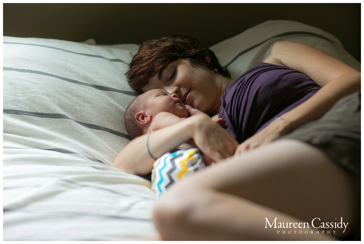 mother and newborn photo madison wi