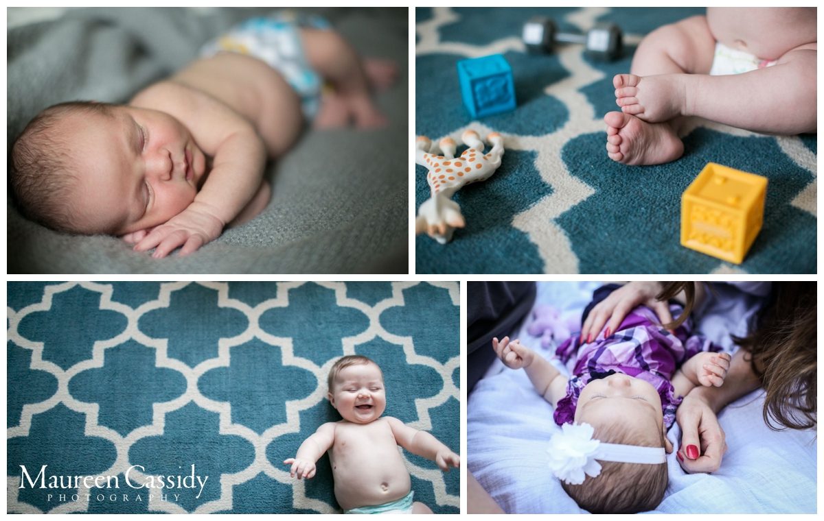 candid newborn photography madison wi