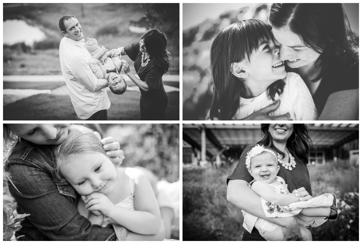 black and white family pictures madison wi