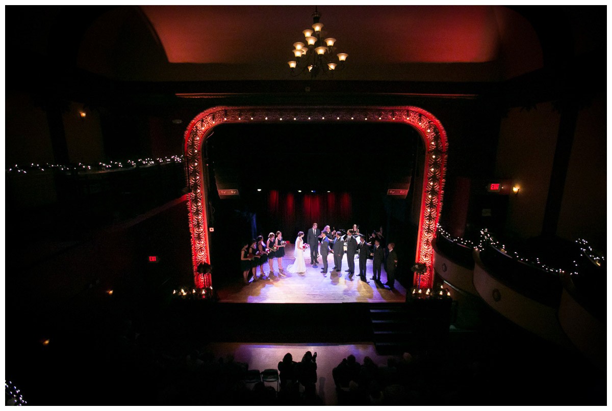 majestic theater wedding