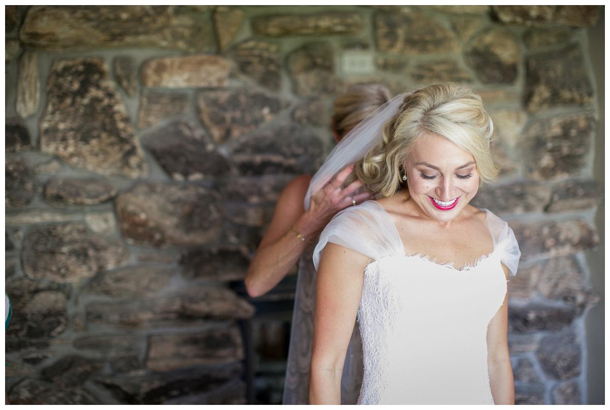 happy bride wedding photo