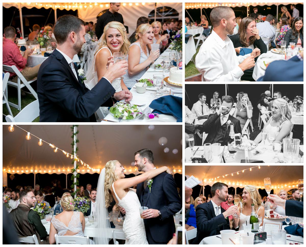 Backyard Wedding Madison Wedding Family Photographer