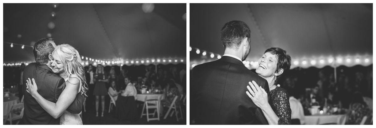 groom and mother first dance madison wedding photographer